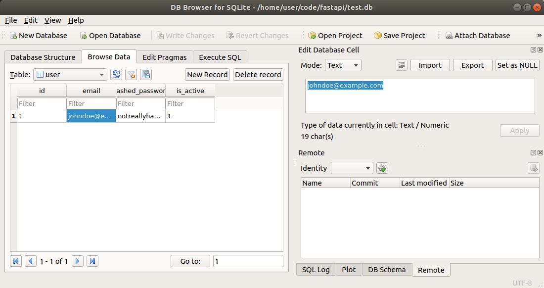 SQL (Relational) Databases - FastAPI