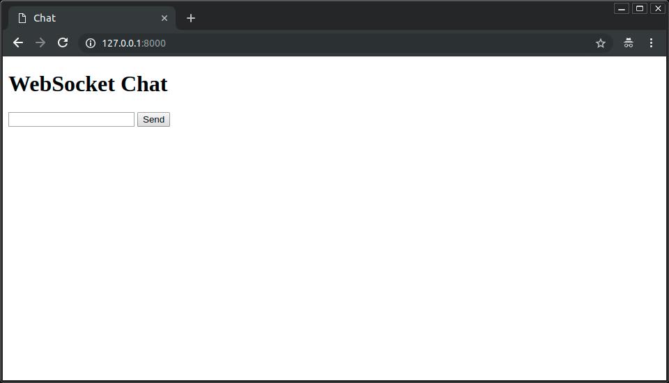 WebSockets - FastAPI